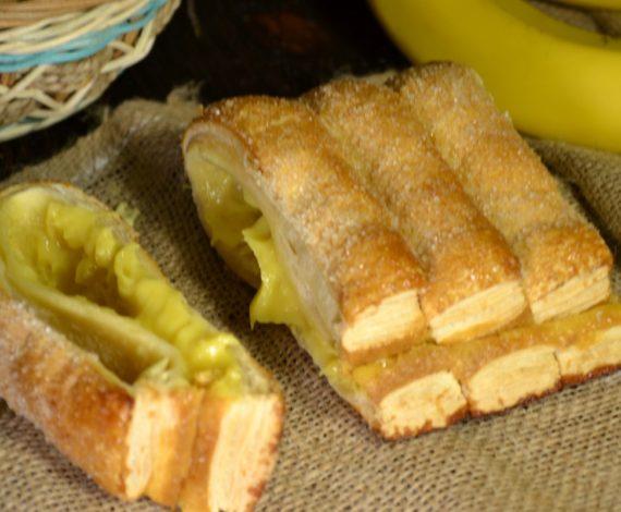 Слойки бананов рецепты фото
